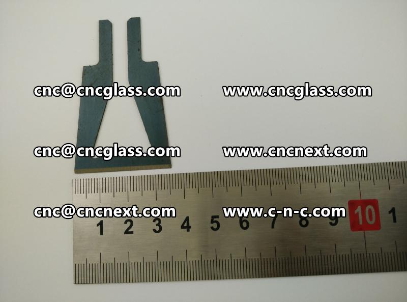 Hot knife trimmer blades (14)