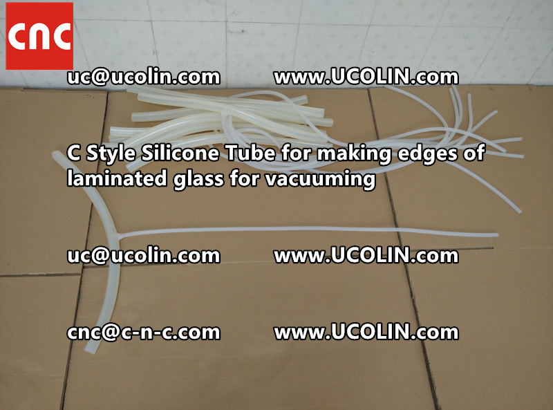 TEMPER BEND LAMINATED GLASS SAFETY GLAZING vacuuming silicone tube (53)