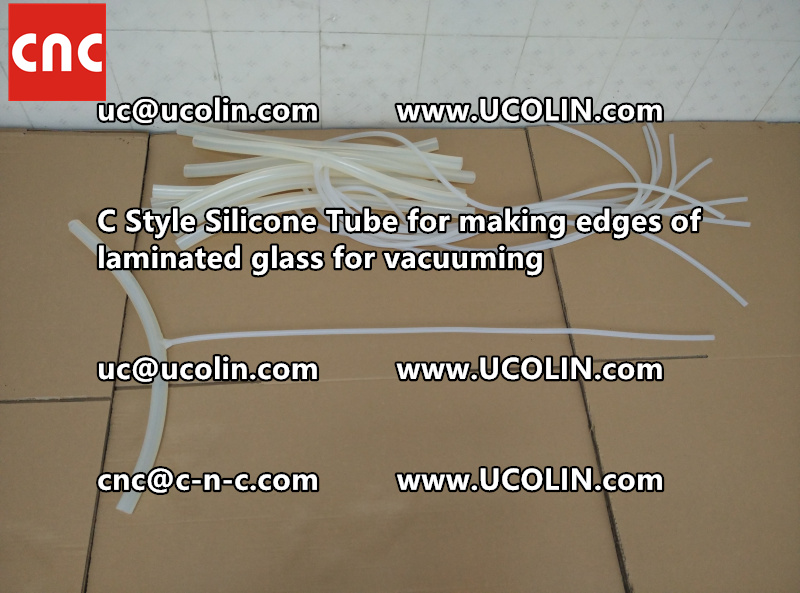TEMPER BEND LAMINATED GLASS SAFETY GLAZING vacuuming silicone tube (54)