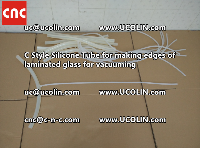 TEMPER BEND LAMINATED GLASS SAFETY GLAZING vacuuming silicone tube (55)