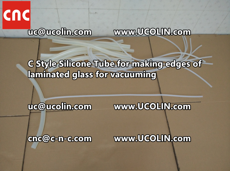 TEMPER BEND LAMINATED GLASS SAFETY GLAZING vacuuming silicone tube (57)