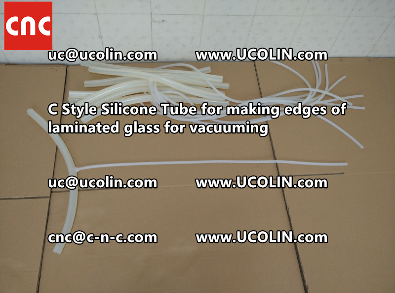 TEMPER BEND LAMINATED GLASS SAFETY GLAZING vacuuming silicone tube (58)
