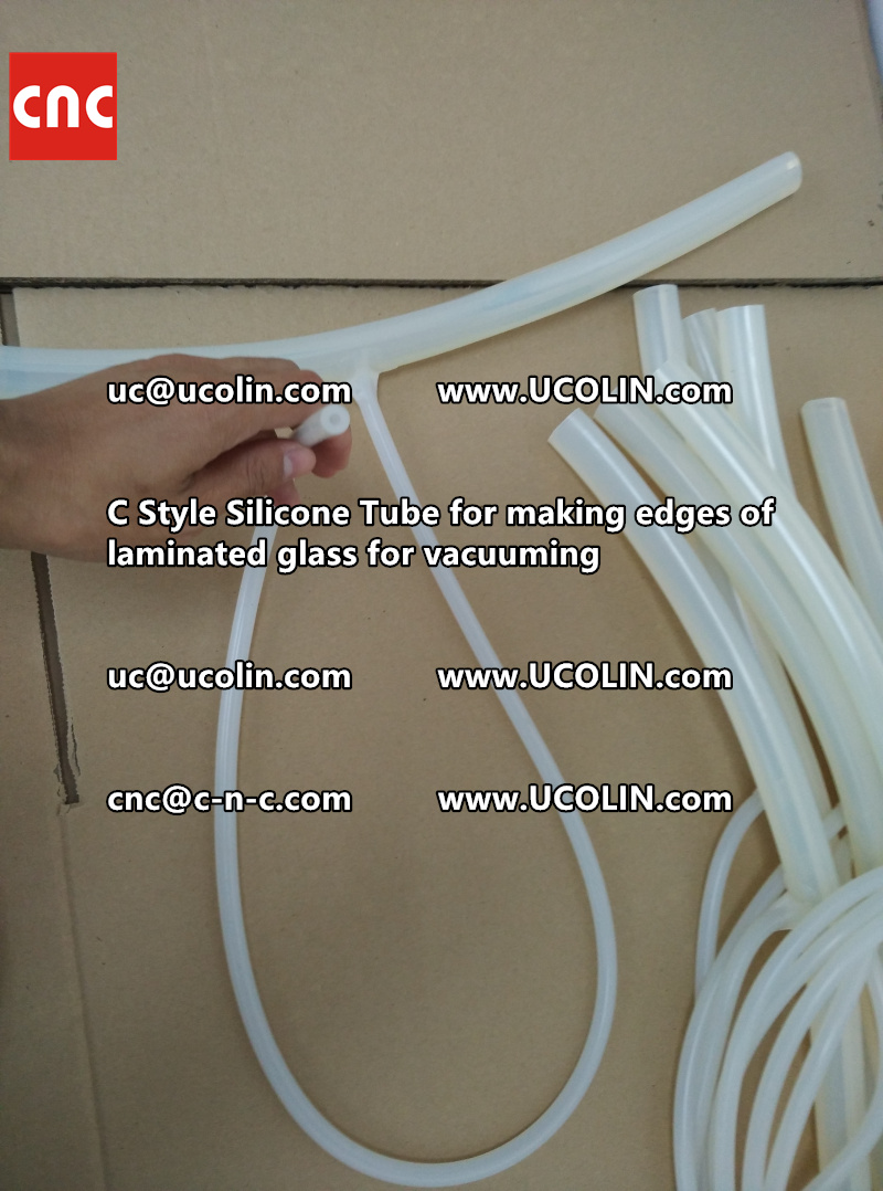 TEMPER BEND LAMINATED GLASS SAFETY GLAZING vacuuming silicone tube (61)