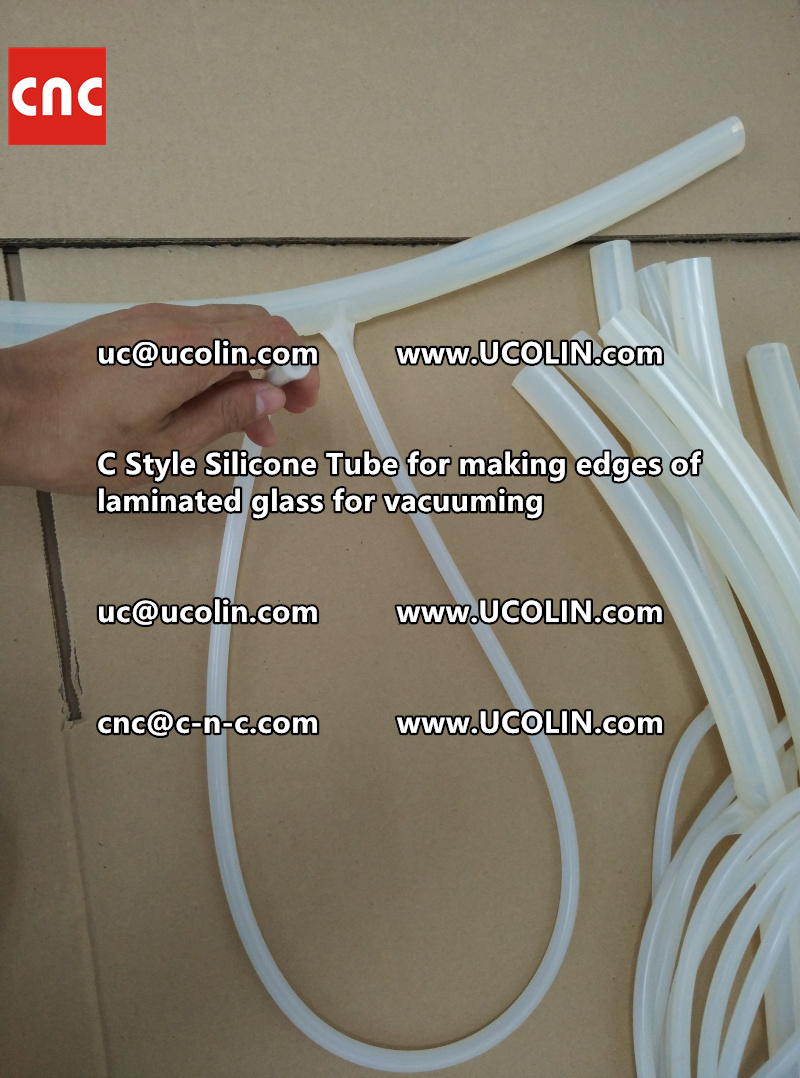 TEMPER BEND LAMINATED GLASS SAFETY GLAZING vacuuming silicone tube (63)