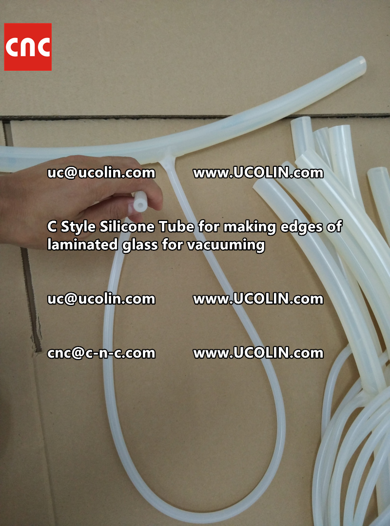 TEMPER BEND LAMINATED GLASS SAFETY GLAZING vacuuming silicone tube (64)