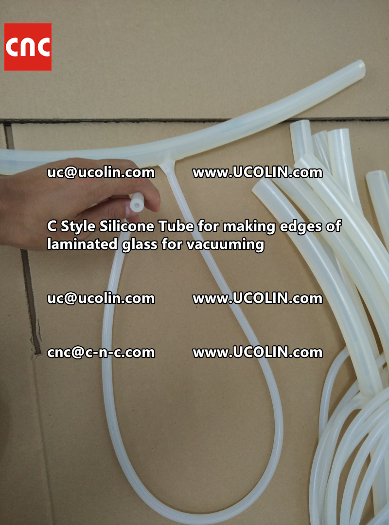 TEMPER BEND LAMINATED GLASS SAFETY GLAZING vacuuming silicone tube (65)