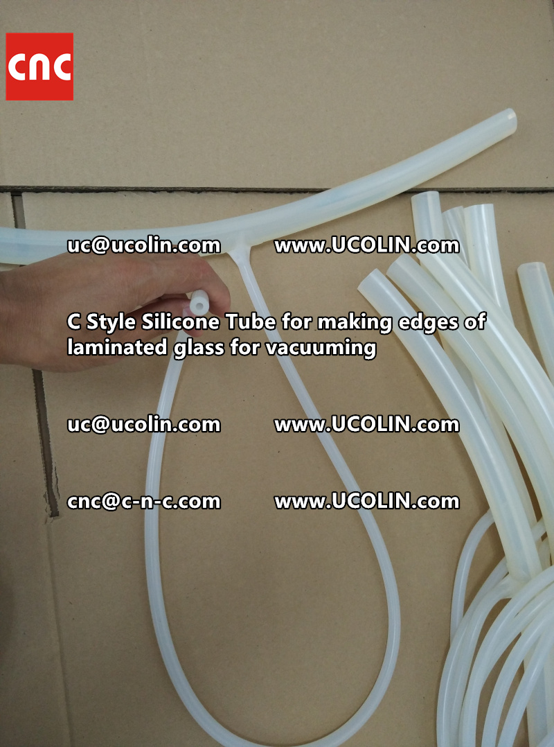 TEMPER BEND LAMINATED GLASS SAFETY GLAZING vacuuming silicone tube (67)