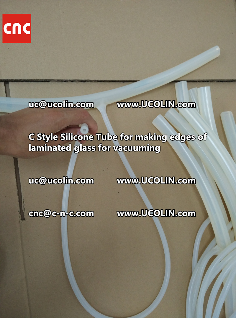 TEMPER BEND LAMINATED GLASS SAFETY GLAZING vacuuming silicone tube (68)
